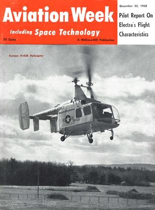 Cover for the December 22 1958 issue