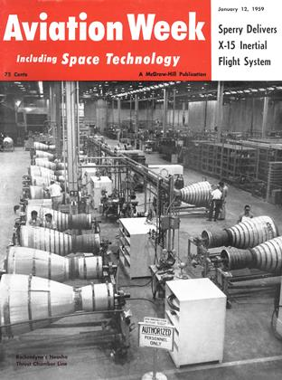 Cover for the January 12 1959 issue