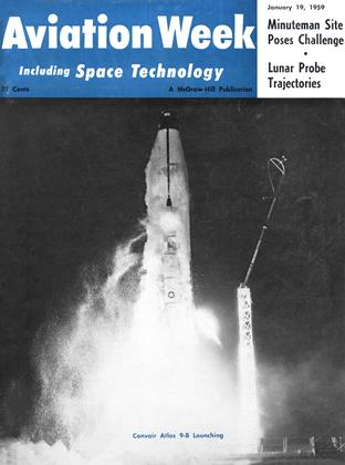 Cover for the January 19 1959 issue
