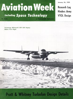 Cover for the January 26 1959 issue