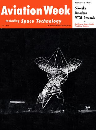 Cover for the February 2 1959 issue