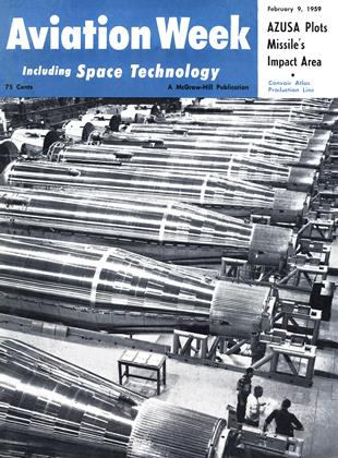 Cover for the February 9 1959 issue
