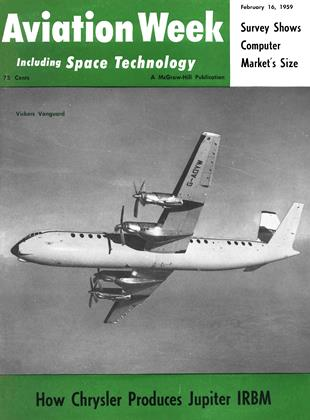 Cover for the February 16 1959 issue