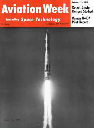Cover for the February 23 1959 issue