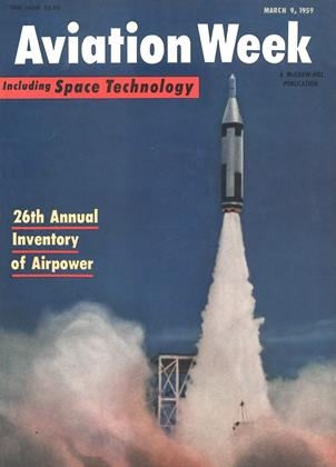 Cover for the March 9 1959 issue
