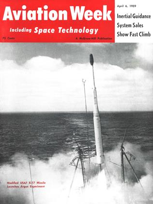 Cover for the April 6 1959 issue