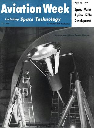 Cover for the April 13 1959 issue