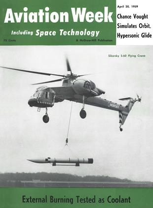 Cover for the April 20 1959 issue