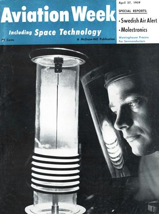 Cover for the April 27 1959 issue