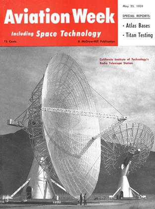 Cover for the May 25 1959 issue