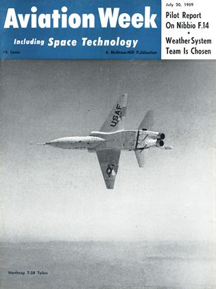 Cover for the July 20 1959 issue