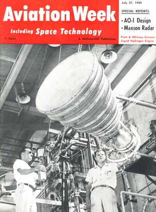 Cover for the July 27 1959 issue