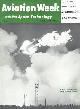 Cover for the August 3 1959 issue