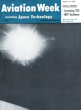 Cover for the August 10 1959 issue