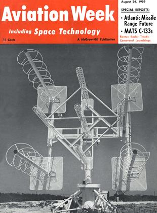 Cover for the August 24 1959 issue
