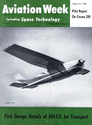 Cover for the August 31 1959 issue