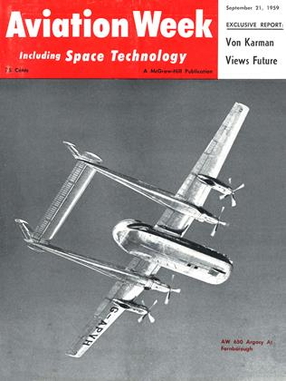 Cover for the September 21 1959 issue