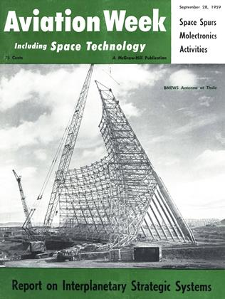 Cover for the September 28 1959 issue