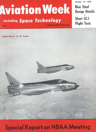 Cover for the October 12 1959 issue