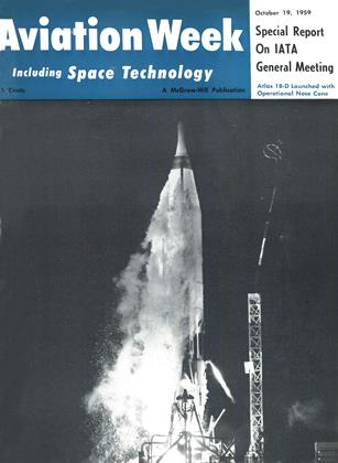 Cover for the October 19 1959 issue