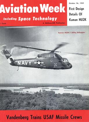 Cover for the October 26 1959 issue