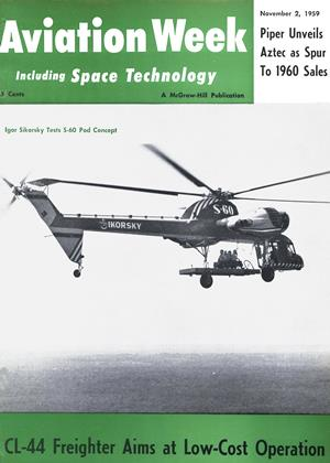 Cover for the November 2 1959 issue