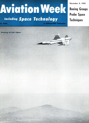 Cover for the November 9 1959 issue