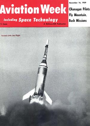 Cover for the November 16 1959 issue