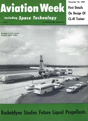 Cover for the November 23 1959 issue