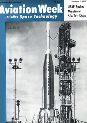Cover for the December 7 1959 issue