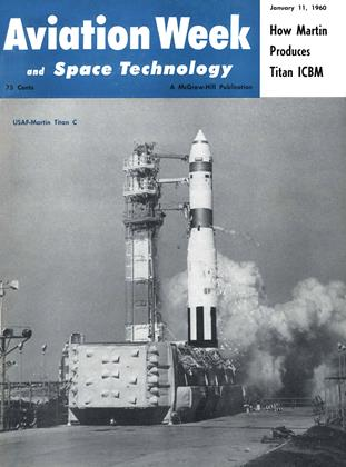 Cover for the January 11 1960 issue
