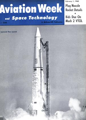 Cover for the February 1 1960 issue