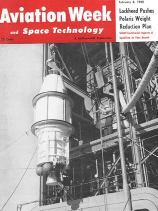 Cover for the February 8 1960 issue