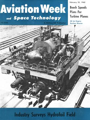 Cover for the February 22 1960 issue