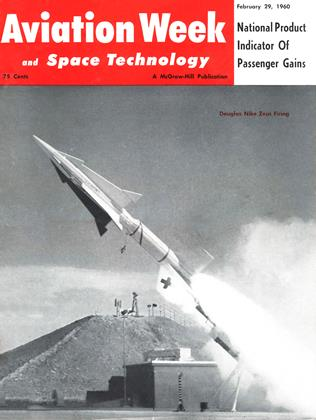 Cover for the February 29 1960 issue
