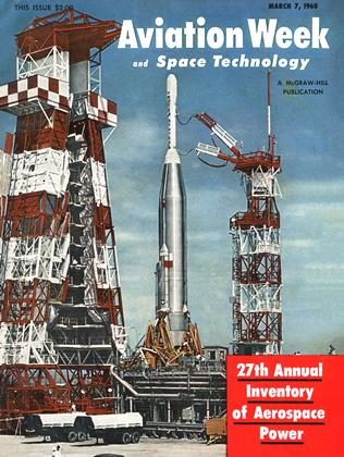 Cover for the March 7 1960 issue