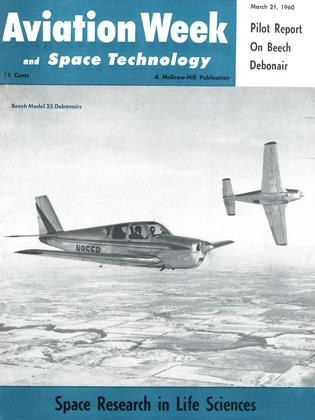 Cover for the March 21 1960 issue