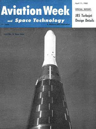 Cover for the April 11 1960 issue