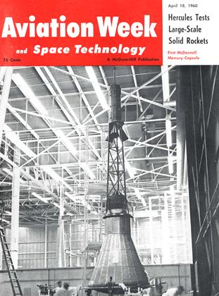 Cover for the April 18 1960 issue