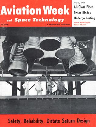 Cover for the May 9 1960 issue