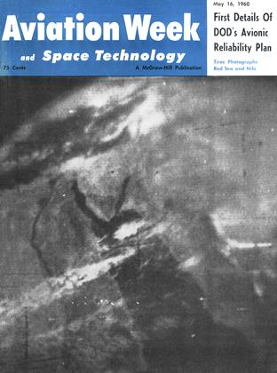 Cover for the May 16 1960 issue