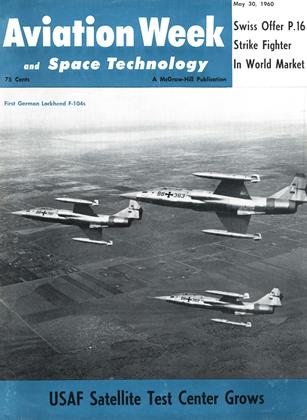 Cover for the May 30 1960 issue