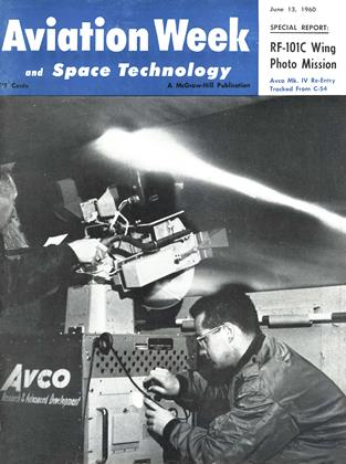 Cover for the June 13 1960 issue