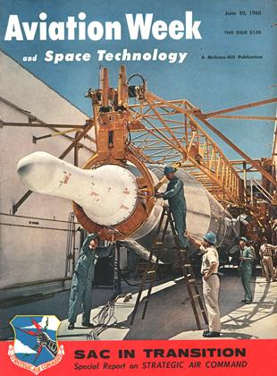 Cover for the June 20 1960 issue