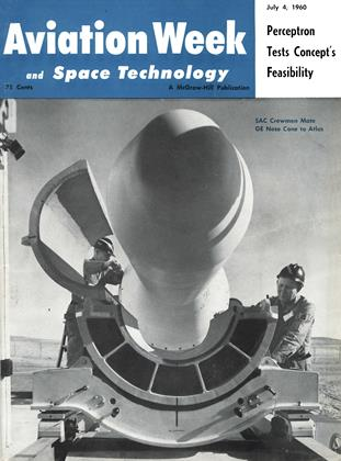 Cover for the July 4 1960 issue