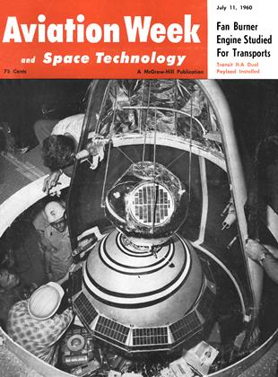 Cover for the July 11 1960 issue