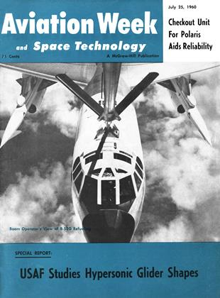 Cover for the July 25 1960 issue