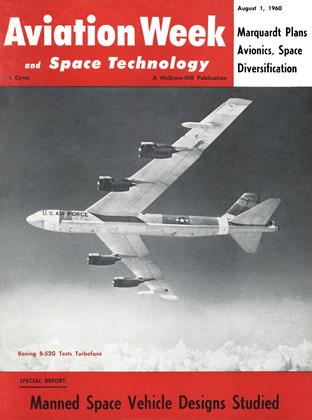 Cover for the August 1 1960 issue