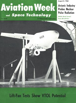 Cover for the August 8 1960 issue