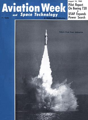 Cover for the August 15 1960 issue